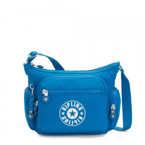 Kipling GABBIE S Crossbody Bag with Phone Compartment Methyl Blue Nc