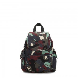 Kipling CITY PACK MINI City Pack Mini Backpack Camo Large