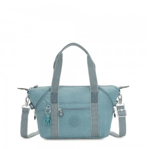 Kipling ART MINI Handbag Aqua Frost