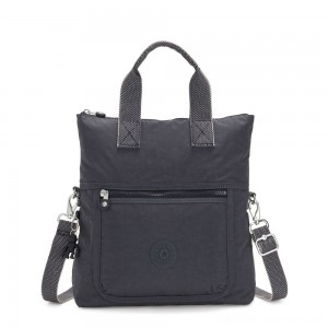 Black Friday 2020 - Kipling ELEVA Shoulderbag with Removable and Adjustable Strap Night Grey