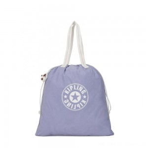 Kipling NEW HIPHURRAY L FOLD Large Foldable Tote Active Lilac Bl