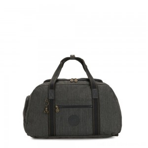 Black Friday 2020 - Kipling PALERMO Large Duffle Bag with Adjustable Backpack Straps Black Indigo