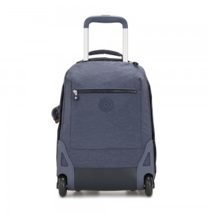 Black Friday 2020 - Kipling SOOBIN LIGHT Large wheeled backpack with laptop protection True Jeans