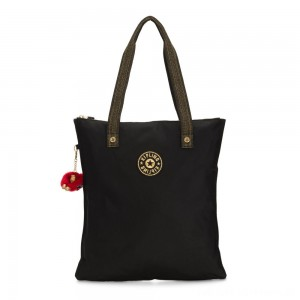 Black Friday 2020 - Kipling MYHIPHRY Small Tote Bag with Optional Pouches Special Black