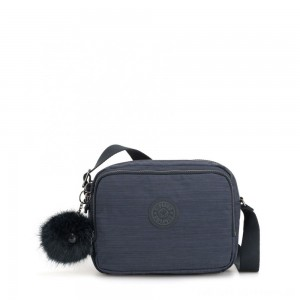 Kipling SILEN Small Across Body Shoulder Bag True Dazz Navy