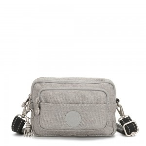 Black Friday 2020 - Kipling MULTIPLE Waist Bag Convertible to Shoulder Bag Chalk Grey