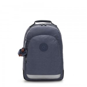 Kipling CLASS ROOM Large backpack with laptop protection True Jeans