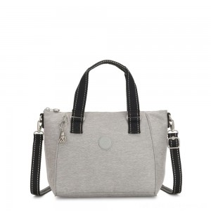 Black Friday 2020 - Kipling AMIEL Medium Handbag Chalk Grey