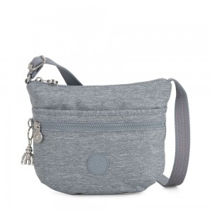 Black Friday 2020 - Kipling ARTO S Cross Body Shoulder Bag Cool Denim