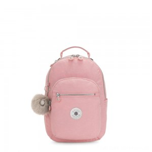 Black Friday 2020 - Kipling SEOUL S Small backpack with tablet protection Bridal Rose