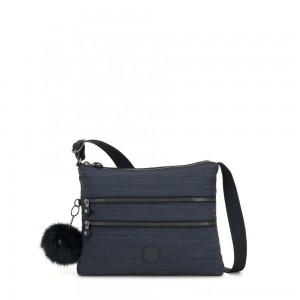 Black Friday 2020 - Kipling ALVAR Medium Shoulder Bag Across Body True Dazz Navy