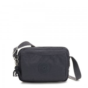 Black Friday 2020 - Kipling ABANU Mini Crossbody Bag with Adjustable Shoulder Strap Night Grey