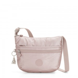 Black Friday 2020 - Kipling ARTO S Small Cross-Body Bag Metallic Rose
