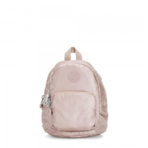 Black Friday 2020 - Kipling GLAYLA Extra small 3-in-1 Backpack/Crossbody/Handbag Metallic Rose Gifting