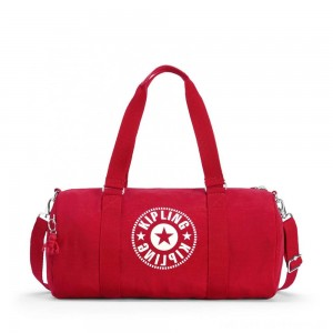 Black Friday 2020 - Kipling ONALO Multifunctional Duffle Bag Lively Red