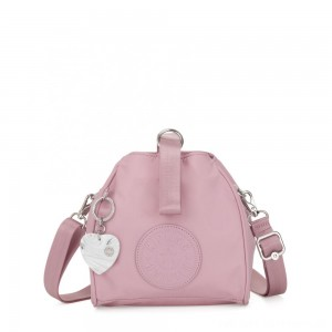 Black Friday 2020 - Kipling IMMIN Small Shoulder Bag Faded Pink