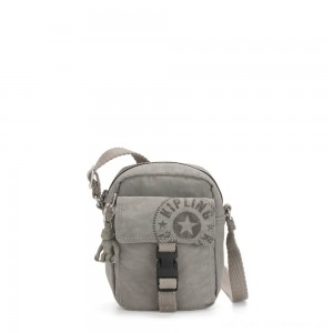 Kipling TEDDY Small Crossbody Bag Rapid Grey