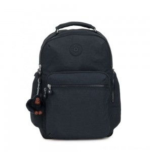 Black Friday 2020 - Kipling OSHO Large backpack with organsiational pockets True Navy