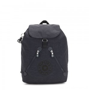 Kipling FUNDAMENTAL NC Backpack with 2 Zipped Pockets Night Grey Nc