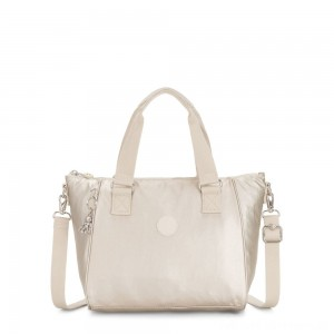 Kipling AMIEL Medium Handbag Cloud Metal