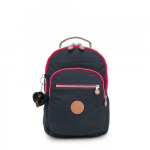 Kipling CLAS SEOUL S Backpack with Tablet Compartment True Navy C