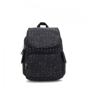 Kipling CITY PACK Medium Backpack Tile Print