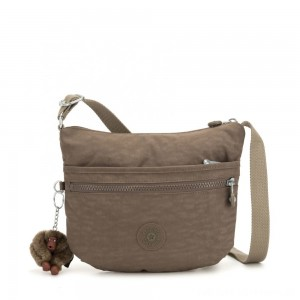 Kipling ARTO S Small Cross-Body Bag True Beige