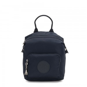 Black Friday 2020 - Kipling NALEB Small Backpack with tablet sleeve True Blue Twill
