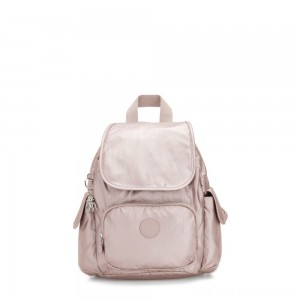 Black Friday 2020 - Kipling CITY PACK MINI City Pack Mini Backpack Metallic Rose