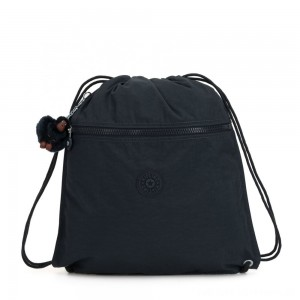 Black Friday 2020 - Kipling SUPERTABOO Medium Drawstring Bag True Navy
