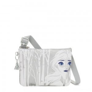 Kipling RAINA Small crossbody bag convertible to pouch Birch Tree R