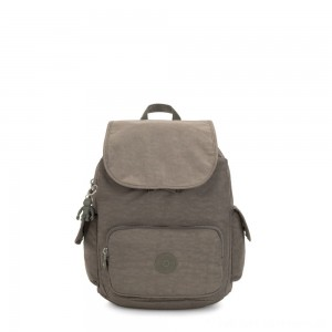 Kipling CITY PACK S Small Backpack Seagrass