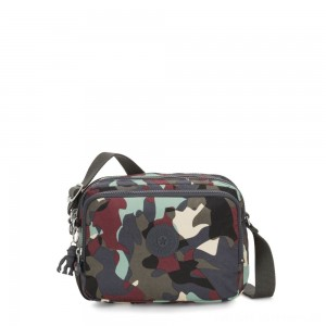 Black Friday 2020 - Kipling SILEN Small Across Body Shoulder Bag Camo Large