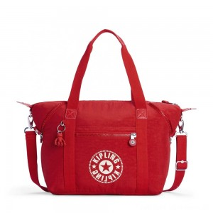 Black Friday 2020 - Kipling ART NC Lightweight Tote Bag Lively Red