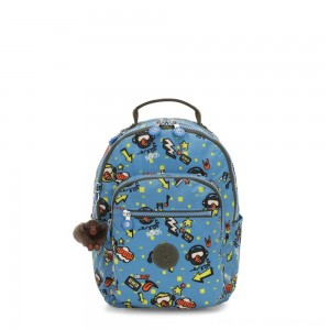 Black Friday 2020 - Kipling SEOUL GO S Small Backpack Monkey Rock