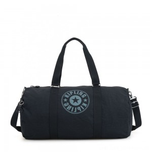 Black Friday 2020 - Kipling ONALO L Large Duffle Bag with Zipped Inside Pocket Lively Navy