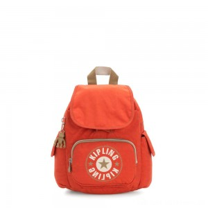 Black Friday 2020 - Kipling CITY PACK MINI City Pack Mini Backpack Funky Orange Block