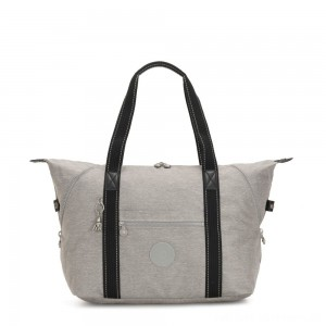 Black Friday 2020 - Kipling ART M Multi-use medium tote with trolley sleeve Chalk Grey