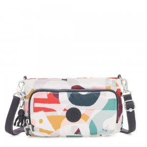Kipling MYRTE Small 2 in 1 Crossbody and Pouch Music Print