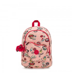 Kipling HEART BACKPACK Kids backpack Monkey Play