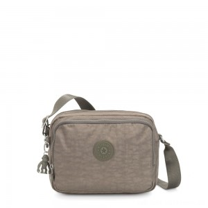 Kipling SILEN Small Across Body Shoulder Bag Seagrass