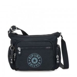Kipling GABBIE S Crossbody Bag with Phone Compartment Lively Navy