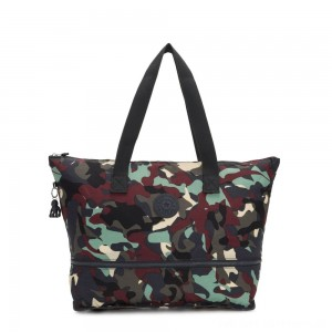 Kipling IMAGINE PACK Large Foldable Tote Bag Camo Large