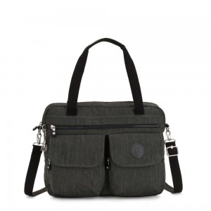 Black Friday 2020 - Kipling MARIC Working Bag with laptop protection Black Indigo Work