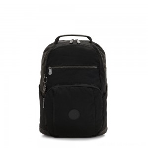 Black Friday 2020 - Kipling TROY Large Backpack with padded laptop compartment Rich Black