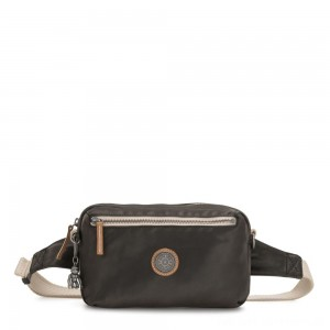 Black Friday 2020 - Kipling HALIMA 2-in-1 Convertible Crossbody and Bumbag Delicate Black