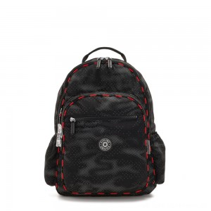 Black Friday 2020 - Kipling SEOUL GO LIGHT UP Large backpack with laptop protection Camo Fl light