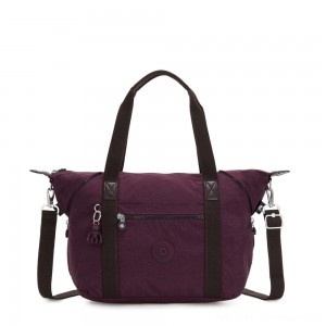 Kipling ART Handbag Dark Plum