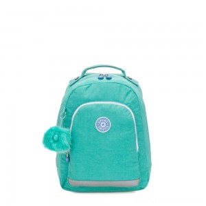 Black Friday 2020 - Kipling CLASS ROOM S Small backpack with laptop protection Deep Aqua C