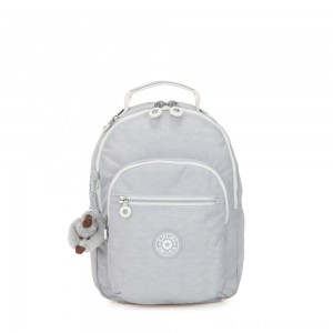 Black Friday 2020 - Kipling CLAS SEOUL S Backpack with Tablet Compartment Active Grey Bl